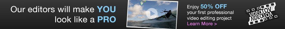 Kitesurf Video Editing Service