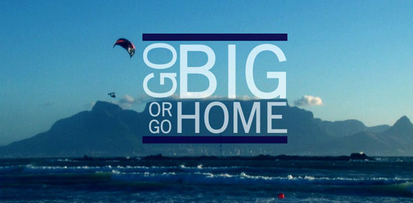 Go BIG or go Home: Red Bull King of the Air 2014