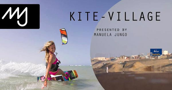 Kite-Village Hamata with Manuela Jungo