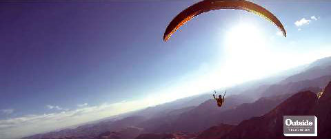 Paragliding 500 Miles To Nowhere