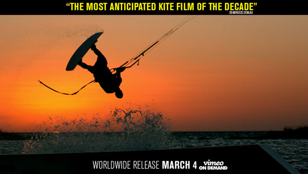 With a Kite Kiteboarding Movie