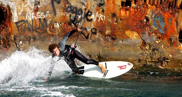 Kitesurfing Training - Surf Board