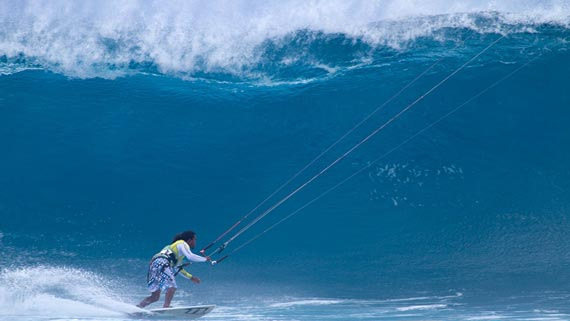 Kitesurfing: Wave Kiting