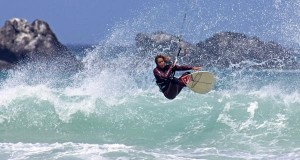 Petra Goeschl - Kitesurfing - Wave Riding