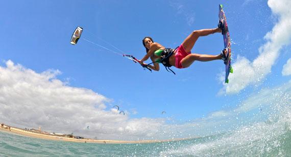 Clementine Bonzom - Kitesurfing