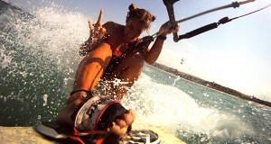 Girl Kitesurfer - Lulu