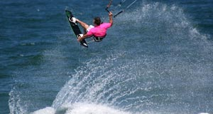 Board Grab - Tail Grab - Kitesurfing