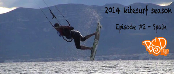 2014 Kitesurf Season in Spain