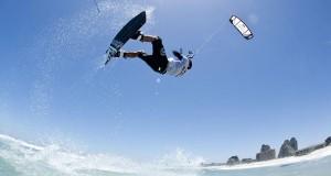 Kiteboarding at Olympics - Aaron Hadlow