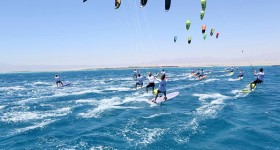 African Kite Racing Championships in Soma Bay 2014