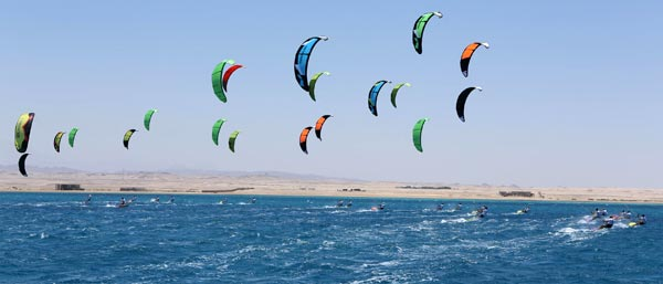 African Kite Racing Championships Soma Bay 2014 Day 3