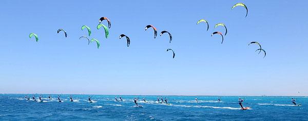 African Kite Racing Championships Soma Bay 2014