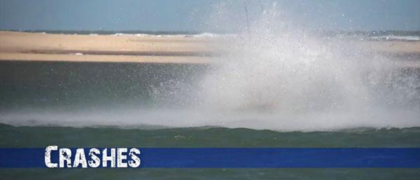Kiteboarding Crashes