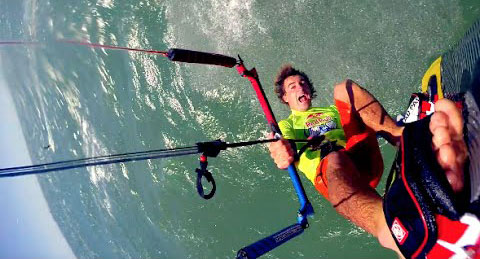 Big Air Kitesurfers in Cape Town