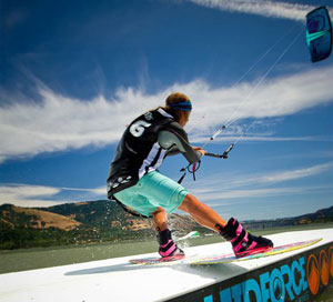 Claire Lutz Kiteboarding Sliders