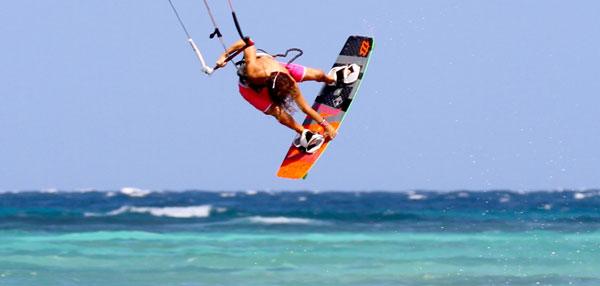 Clementine Bonzom Kitesurfing