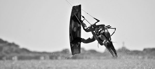 Hannah Whiteley Kiteboarding Bindings