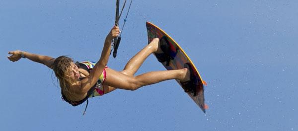 Hannah Whiteley Kitesurfing Andre Magarao