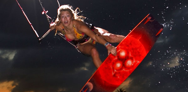 Hannah Whiteley Most Influential Girl Kitesurfer 2012