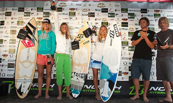 KSP One Eye Kite Surf Pro 2012 Womans Podium