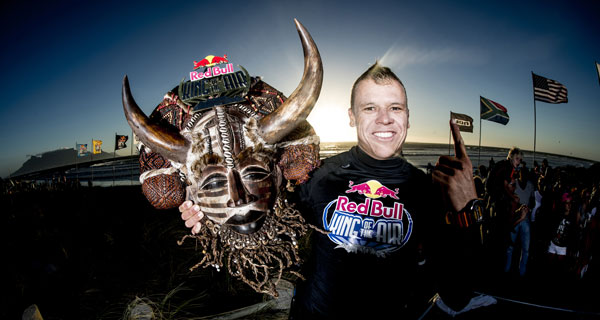 Kevin Langeree Red Bull King of the Air trophy