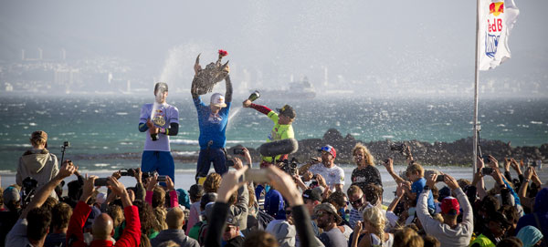 King of the Air 2015 Podium