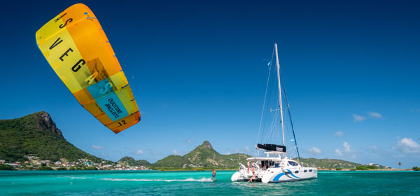 Kitesurfing Cruise in the Grenadines