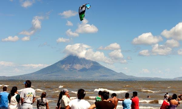 Kiteboarding Lake Nicaragua