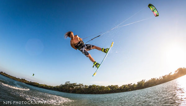 Kiteboarding in Cabarete