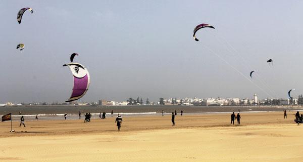 Resultado de imagen de kitesurf en essaouira