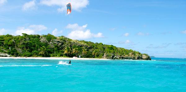 Kitesurfing Grenadines Jamesby Island