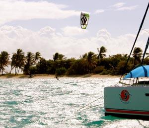 Kitesurfing Grenadines
