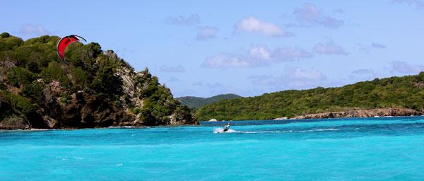 Kitesurfing Tobago Cays