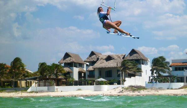 Kitesurfing Vacation Mexico