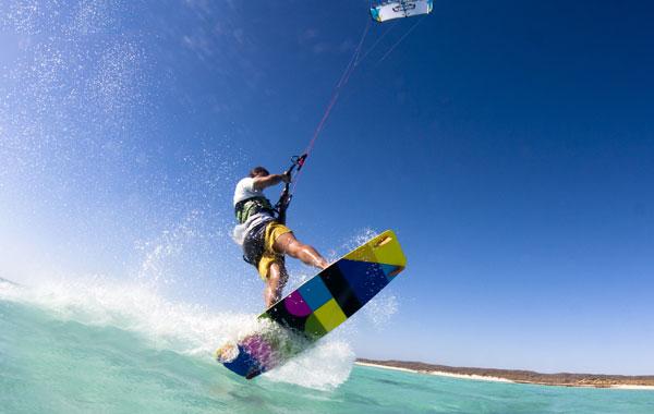 Kitesurfing Western Australia Sandy Bay