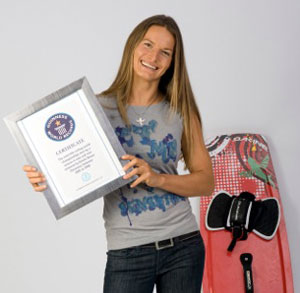 Kristin Boese Guinness World Record