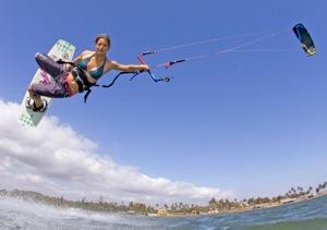 Kristin Boese Kitesurfing