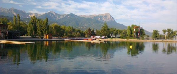 Lac de Serre Poncon Marina
