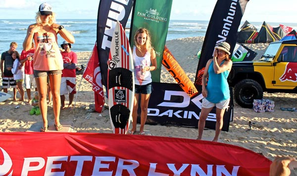 Michelle Smith Kitesurfing Competition