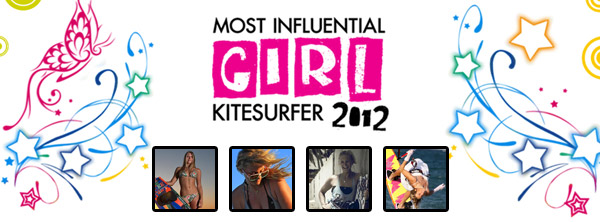 Most Influential Girl Kitesurfer 2012 Winners