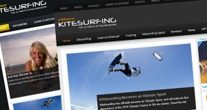 inMotion Kitesurfing New Website Collage