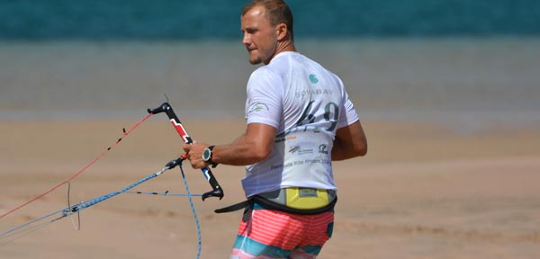Riccardo Leccese African Kite Racing Championships Soma Bay 2014 Day 2