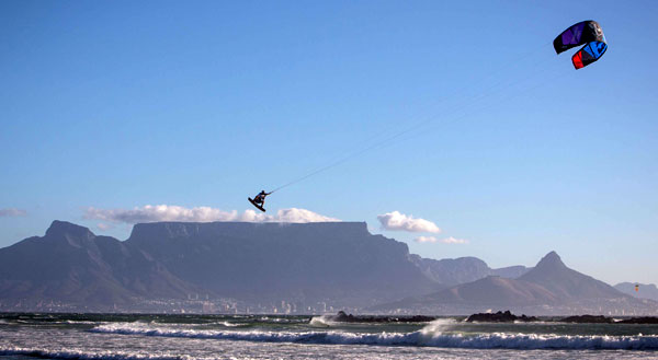 Ruben Lenten Kiteboarding Cape Town Table Mountain