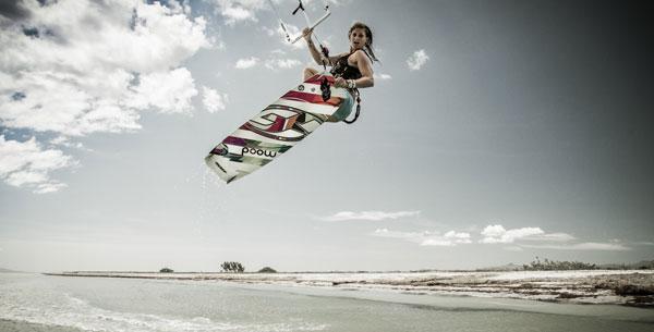 Sophie Chevalier Kiteboarding