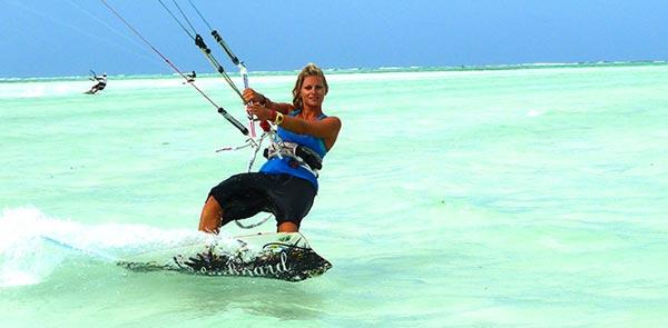 Sophie Chevalier Kitesurfing