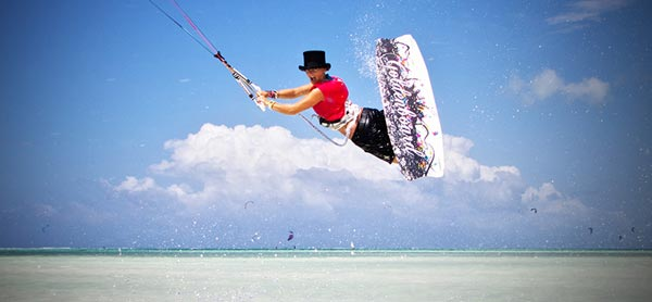 Sophie Chevalier Kitesurfing Sofi Action