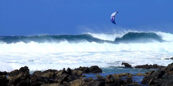 Strapless Kitesurfing Ondas Paraiso Cape Verde