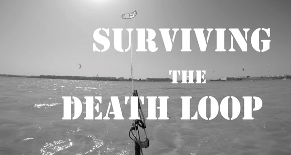 surviving the death loop with a kite inmotion kitesurfing