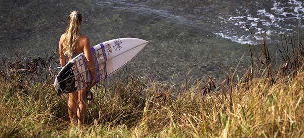 Tatiana Howard Surfing
