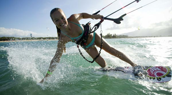 Tatiana Howard Kiteboarding Pierre Bouras